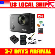 US! Gitup Git2 2K Sport Action Camera Waterproof DVR16MP Wifi+Battery+Charger