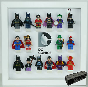 Display frame for Lego DC Comic Marvel CMF  71026 Minifigures