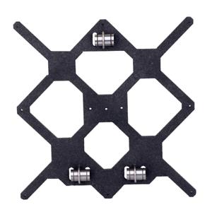 Prusa-I3-MK3-MK3S-Y-Axis-Carriage-Plate-Aluminium-6mm-LM8UU-Bearing-U-bolts-UK