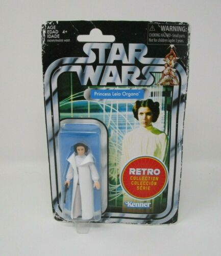 PRINCESSE LEIA ORGANA 2019 Star Wars Rétro Collection Comme neuf on Card