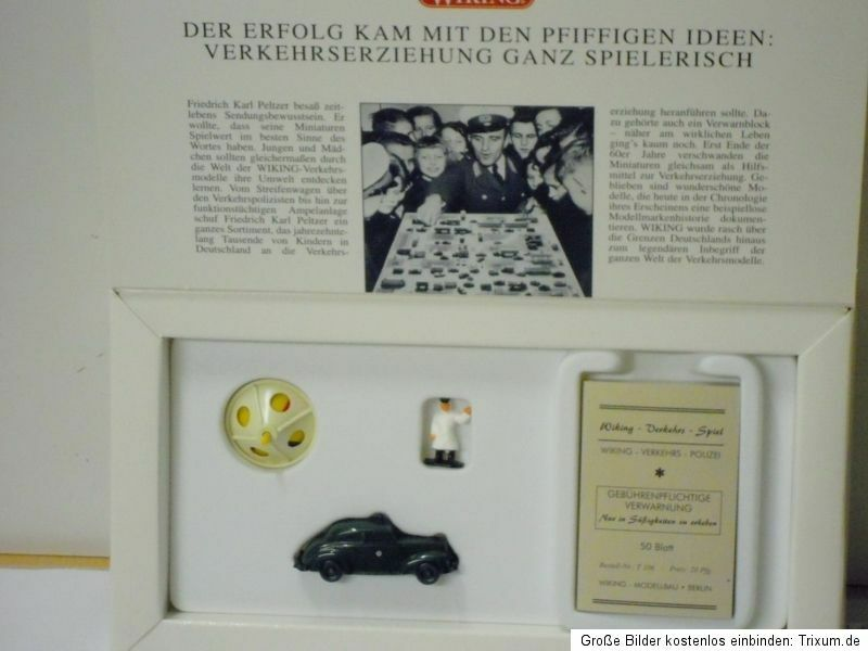 Wiking 9902946 Set 100 Jahre Pionier Der Educazione Alla Sicurezza Stradale   ,
