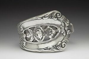 SILVER-SPOON-EMPIRE-SPOON-RING-SILVERWARE-PATTERN-FLORAL-SILVER-PLATED