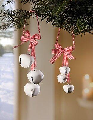 Onpartijdig Weißglöckchen Deko-hänger 2er Set Weihnachtsschmuck Landhausstil Neu Consumenten Eerst