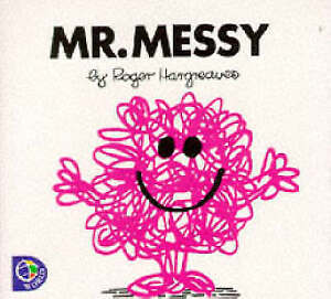 Mr-Messy-Mr-Men-Library-Hargreaves-Roger-Good-Fast-Delivery