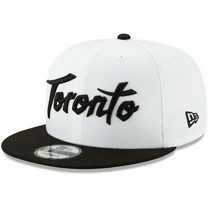 Toronto-Raptors-New-Era-White-Black-2019-20-Earned-Edition-9FIFTY-Snapback-Hat