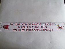 d63 sciarpa MILAN AC football club calcio scarf bufanda echarpe italia italy