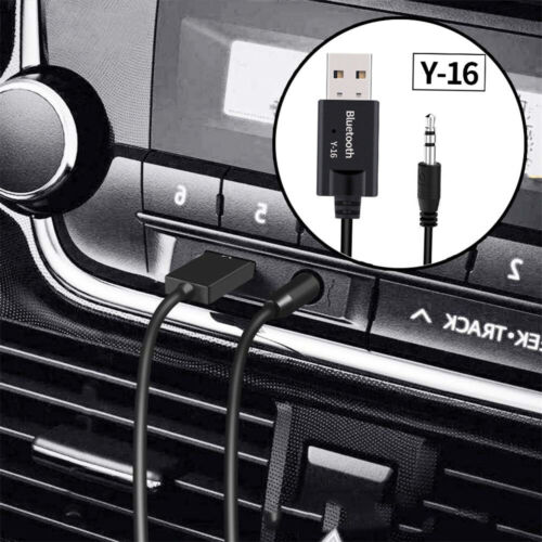 New 3.5mm Audio AUX Car Bluetooth 4.2 Receiver USB Wireless Audio Stereo Adapter
