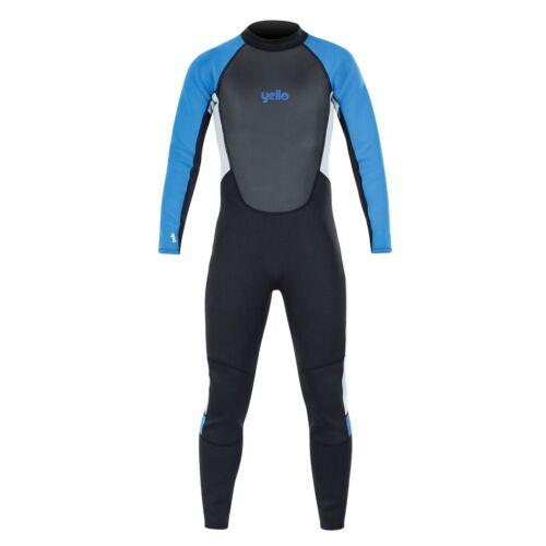 full shorty blue black jetski kayak flatlock yello BLACKTIP MENS  WETSUIT 2MM