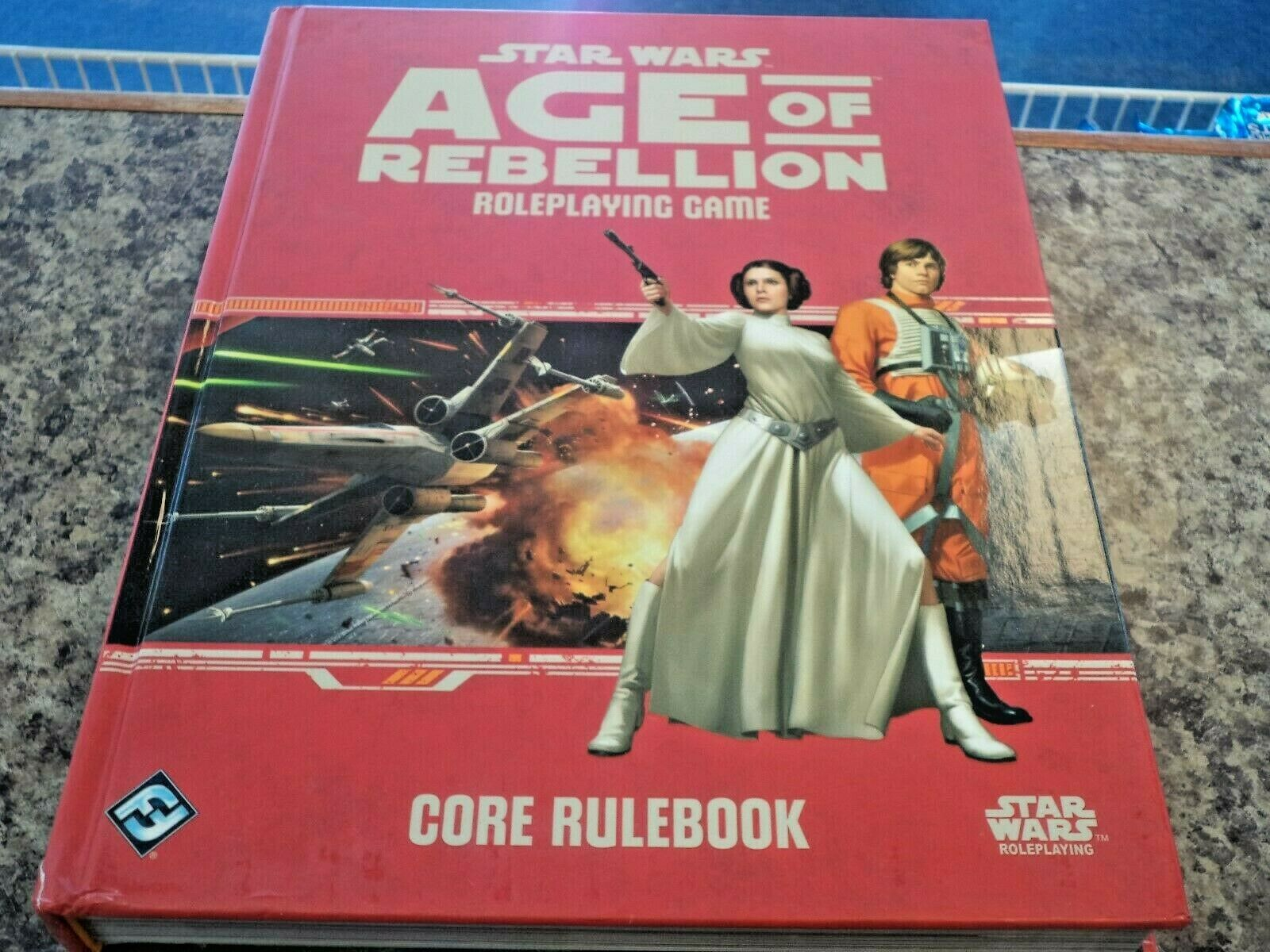 Star Wars Roleplaying Age of Rebellion Core Rulebook RPG Game Book New