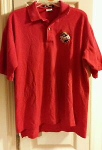 WNBA-Indiana-Fever-Red-Polo-Shirt-Womens-Size-Large