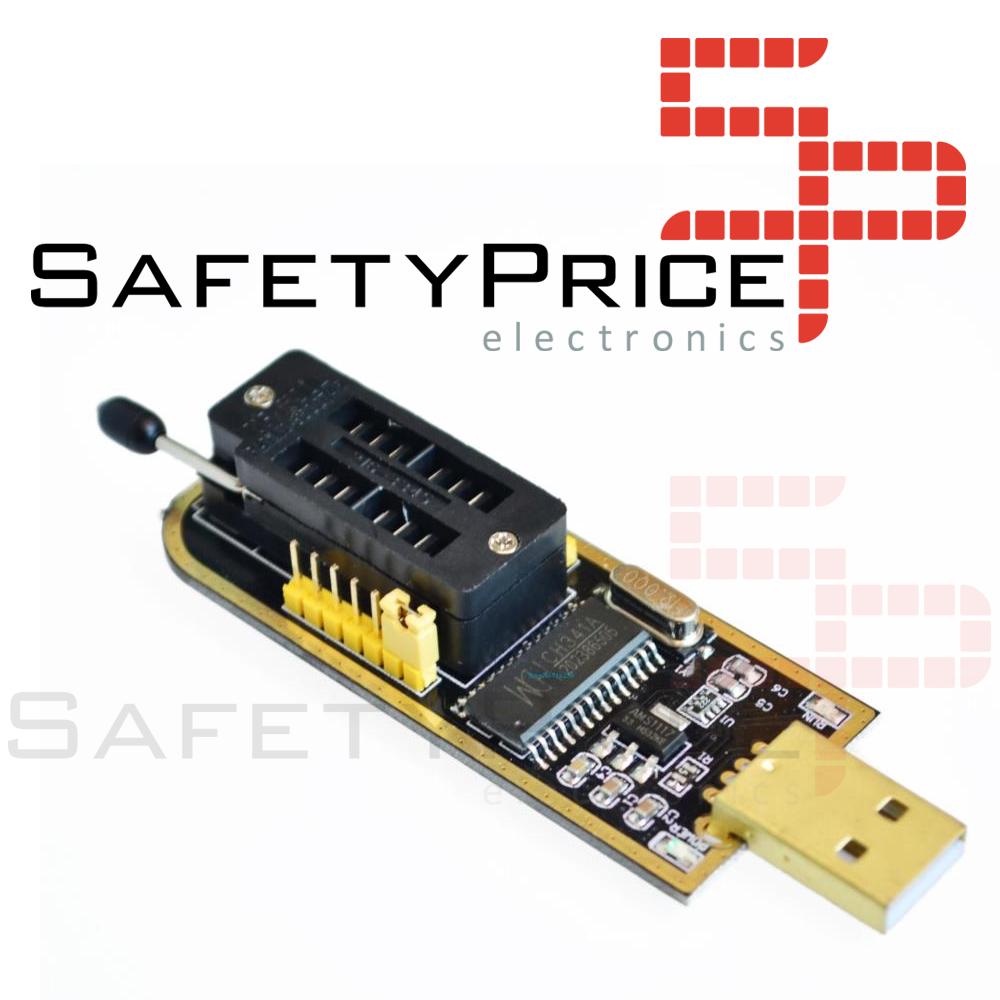 Tecnología LC USB 24XX chipset de flash BIOS Programador Eeprom Series Flux Workshop