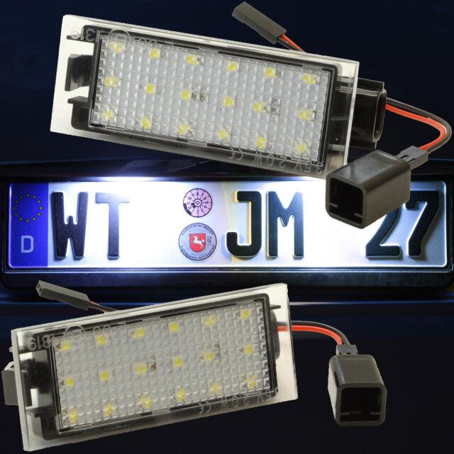 LED SMD Kennzeichenbeleuchtung RENAULT Kennzeichenleuchte Nummernschild 71601-1