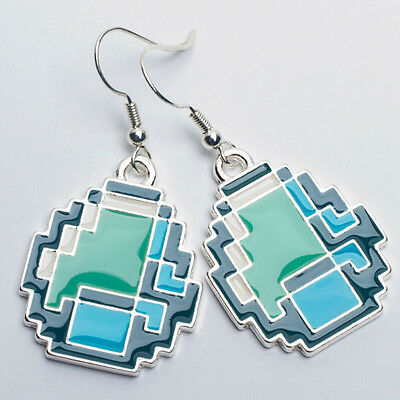 Minecraft Diamond Earrings Officially Licensed Authentic New