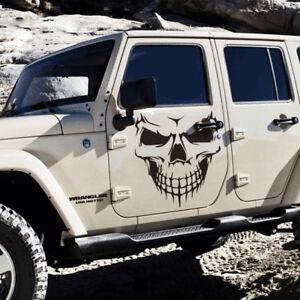 Cool Funny Skull Car Truck Wall Vinyl Window Decal Decals Sticker Wall Decor Rh