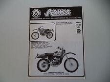 advertising Pubblicità 1977 MOTO ASPES HOPI 125 REGOLARITA' COMPETIZIONE