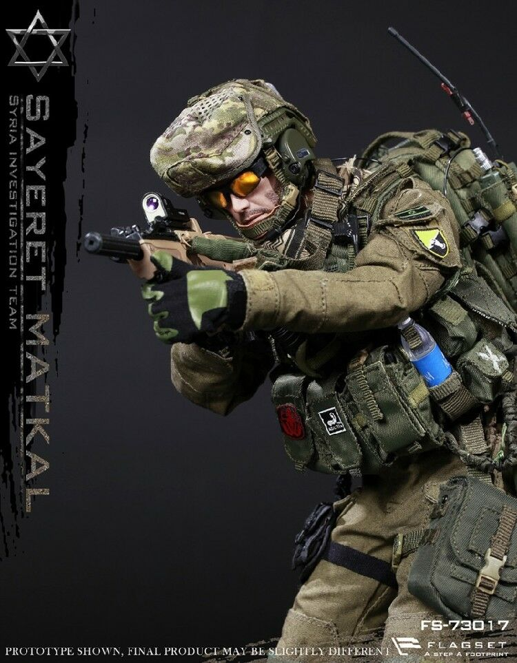 1 6th FLAGSET Israel Wild Boy Special Forces Syrian Figure Full Set Toy FS-73017