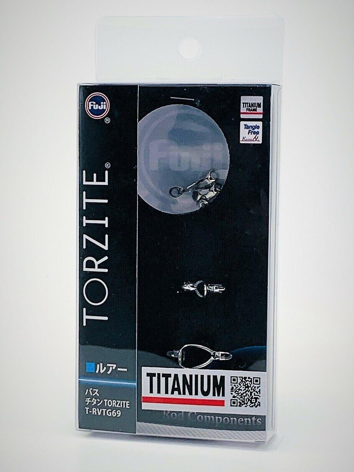 Fuji original Titanium TORZITE Bait Finesse Guide Set TRVTG 69 FREE SHIPPING