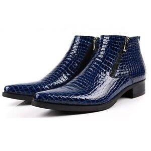 Alligator Print Leather Shoes