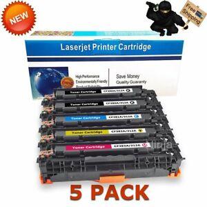 Toner-for-HP-312A-CF380A-Laserjet-Pro-MFP-M476-M476nw-M476dn-M476dw-5-Pack-Set