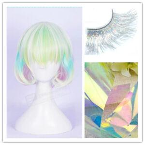Houseki No Kuni Diamond Wigs Colorful Cosplay Wig False ...