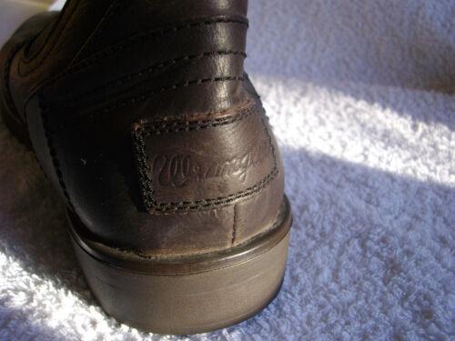 marrone scuro uomo da Original 12 Uk Wrangler taglia in Chelsea pelle Stivali wq6H0n