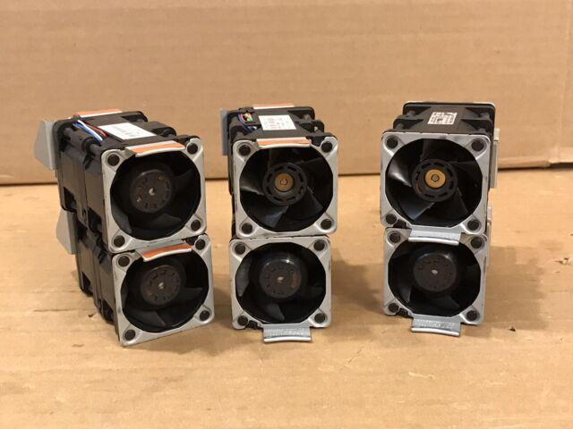LOT of 6x IBM x3550 M3 M2 Server Hot-Plug Fans 43V6929 43V6928 Nidec / Delta