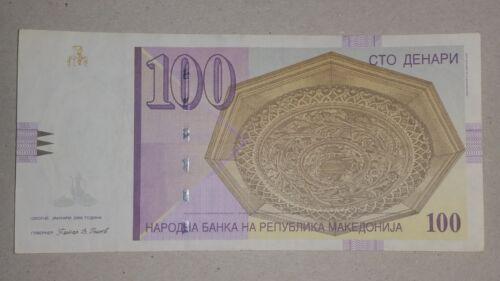 FREE SHIPPING WORLDWIDE 100 denar 2009 FYR MACEDONIA