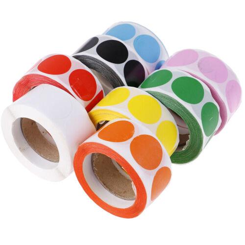 500pcs Color Code Dot Labels stickers stationery sticker Party Decoratioj$