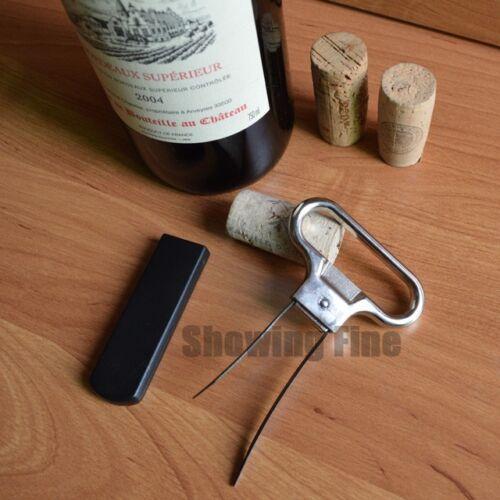 christmas Vintage Cork Puller Ah-So Wine Opener Corkscrew Wine Bottle Opener