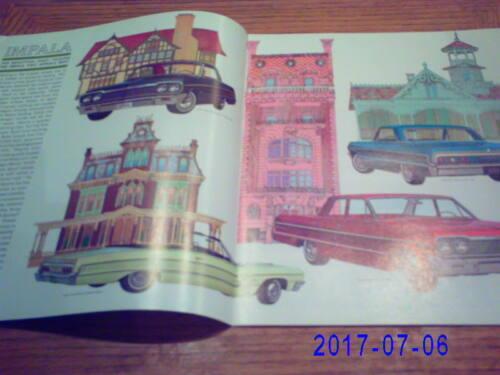 1964 Chevrolet  Prestige All Full Size Models   Sales  Catalog-Original
