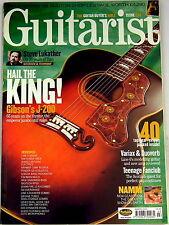 GUITARIST MAGAZINE March 2003 Gibson J-200 Variax Nik Huber Ibanez Fender Lehle