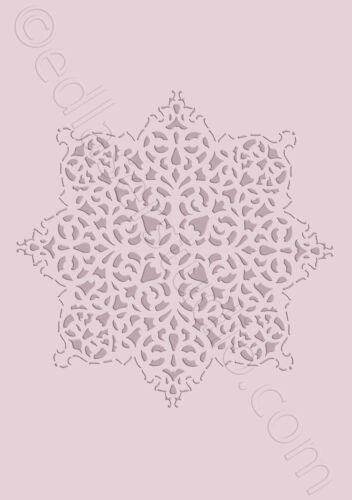 Mandala Lace Stencil Template Paint Furniture Wedding Card Making Crafts DL21