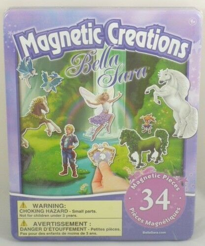 Magnetic Magnetic Creations Spielset 34 Magnetic Magnetic Pieces - Bella Sara (BT68) 455f31