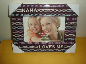 Nana Loves Me Picture Frame 4 X 6 New Ebay