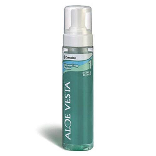 Aloe Vesta Cleansing Foam Convatec 8 oz bottle