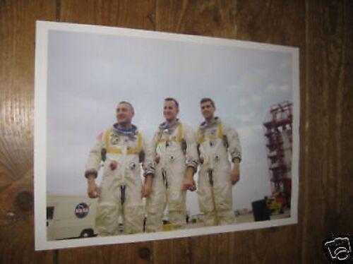 Apollo 1 Grissom White Chaffee Crew Space POSTER