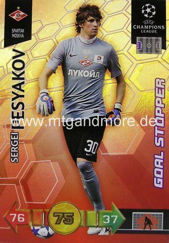 Adrenalyn XL Champions League 10//11 Sergei Pesyakov