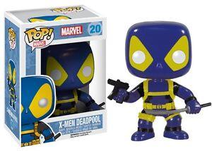 Deadpool-Blue-X-Men-20-Marvel-Comics-Funko-Pop-Vinyl-Figure
