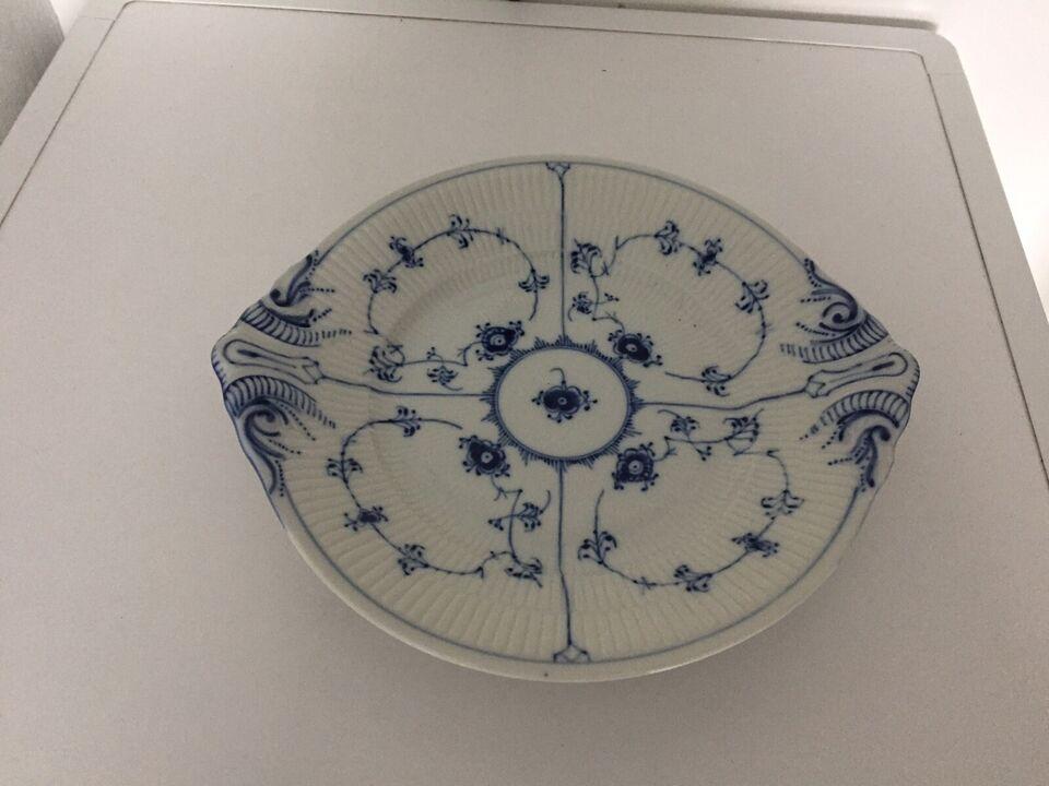 Porcelæn, Fad, Musselmalet