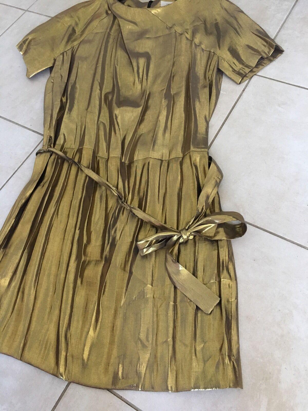 Magnifique Robe De Gerard Darel T.40 Neuve
