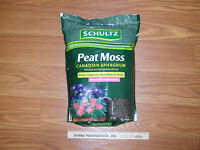 Schultz Canadian Spagnum Peat Moss 8qt.fine Gr. Make Your Own Seed Starting Mix