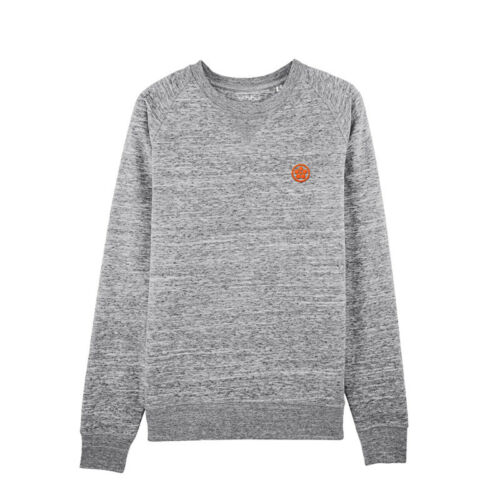Shibui Surf /& Skate Round Neck Heather Grey Sweatshirt High Quality