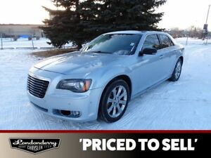 2013 Chrysler 300 AWD S Navigation (GPS),  Leather,  Heated Seats,  Panoramic Roof,  Back-up Cam,  Bluetooth,
