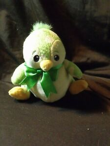 NEOPETS-speckled-BRUCE-penguin-PLUSH-plushie-used-keyquest