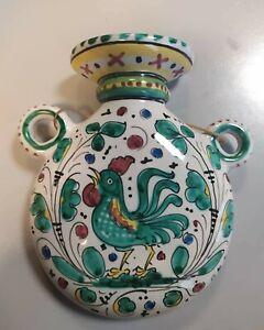 Brocca Da Appendere Labor Deruta ceramica Dipinta a Mano vintage