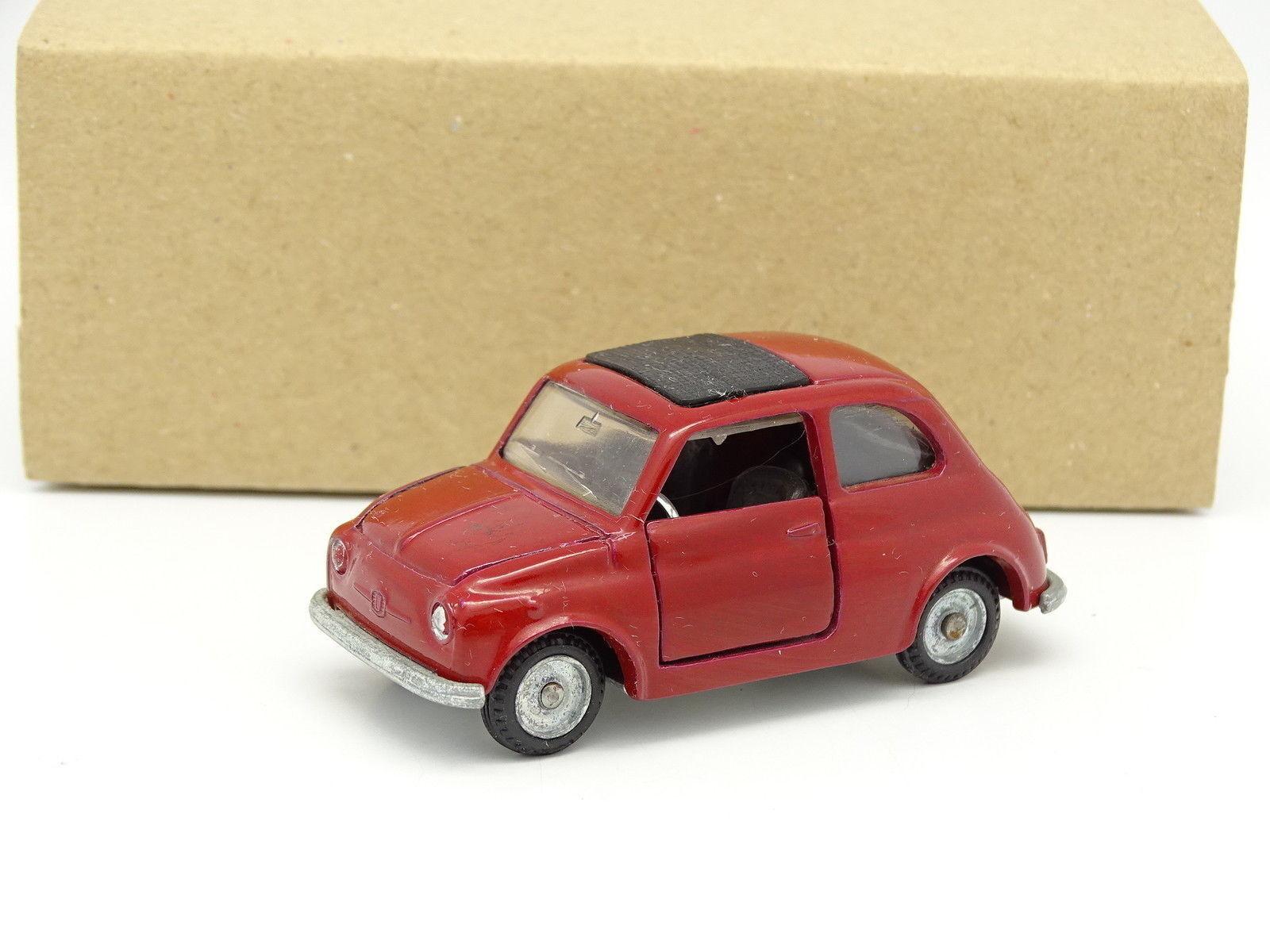 Mebetoys 1 43 - Fiat Nuova 500 Rouge A36