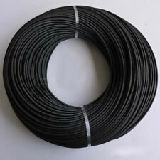 2mm 20mm Silicone Fibreglass Sleeving Heat Resistant Fiber Glass Wire Tube Black
