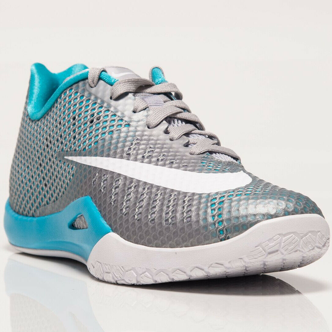 Nike Hyperlive Men's New Grey White Basketball shoes Last Size 7.5 US 819663-004