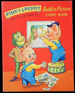 Pinky perky tv favourites build a picture story book Build storybook