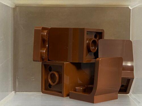 LEGO Parts Chair Reddish Brown Minifigure Utensil Seat - No 4079b QTY 5